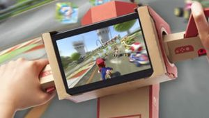 Mario Kart 8 Deluxe maintenant compatible Nintendo Labo