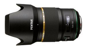 Le HD Pentax-D FA★ 50 mm f/1,4 SDM AW disponible cet été