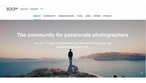 500px met un terme aux licences Creative Commons