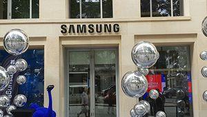 Samsung ouvre son showroom sur les Champs-Élysées