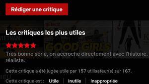 La fin des critiques sur Netflix
