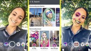 Snapchat lance sa boutique de filtres Lens Explorer