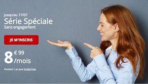 Bon Plan – Free: un forfait mobile à 8,99€ pour 50 Go d'Internet