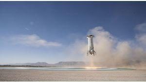 Pour aller dans l'espace avec Jeff Bezos, ce sera au moins 200000$