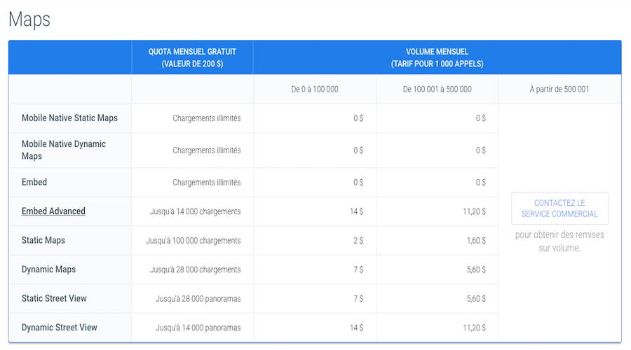 Google Maps Devient Payant Pour Les Professionnels Les Numeriques