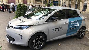Autopartage: Renault et ADA lancent Moov'in.Paris by Renault