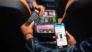 Uber, distributeur mobile grâce à Cargo