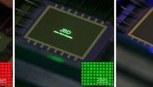 Micro-Led: JBD présente un écran atteignant un million de candelas