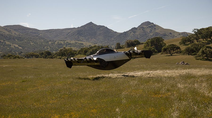 Engins volants électriques: Larry Page se constitue une armada