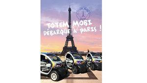 Autopartage: Totem Mobi débarque à Paris avec ses Twizy