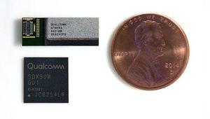 """5G: Qualcomm présente la première antenne """"millimétrique"""" pour mobile"""