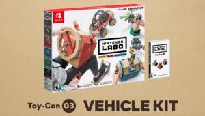 Nintendo Labo présente un troisième kit dédié à la conduite