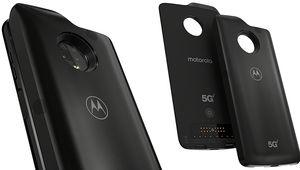 Motorola annonce son Moto Z3 avec un Mod pour tester la 5G