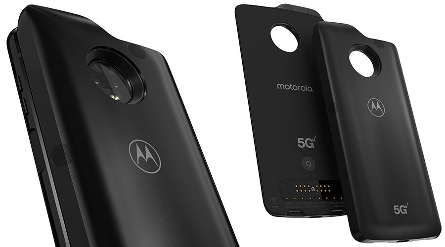 Le Moto Z3 sera le premier smartphone compatible avec la 5G — Motorola/Lenovo