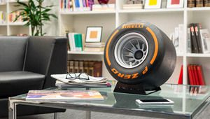 Pirelli met une enceinte Bluetooth dans un pneu de Formule1