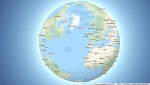 La Terre n'est plus plate sur Google Maps