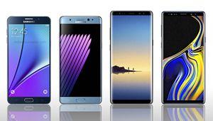 Galaxy Note: une lignée de mobiles au message plus flou que jamais