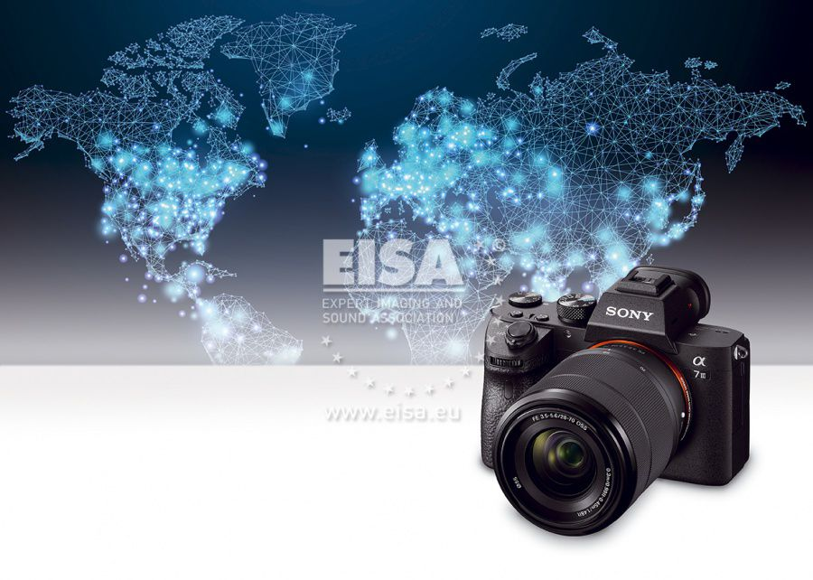 EISA CAMERA OF THE YEAR 2018-2019 Sony α7 III