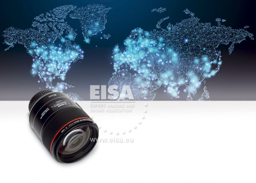 EISA DSLR PRIME LENS 2018-2019 Canon EF 85mm f/1.4L IS USM