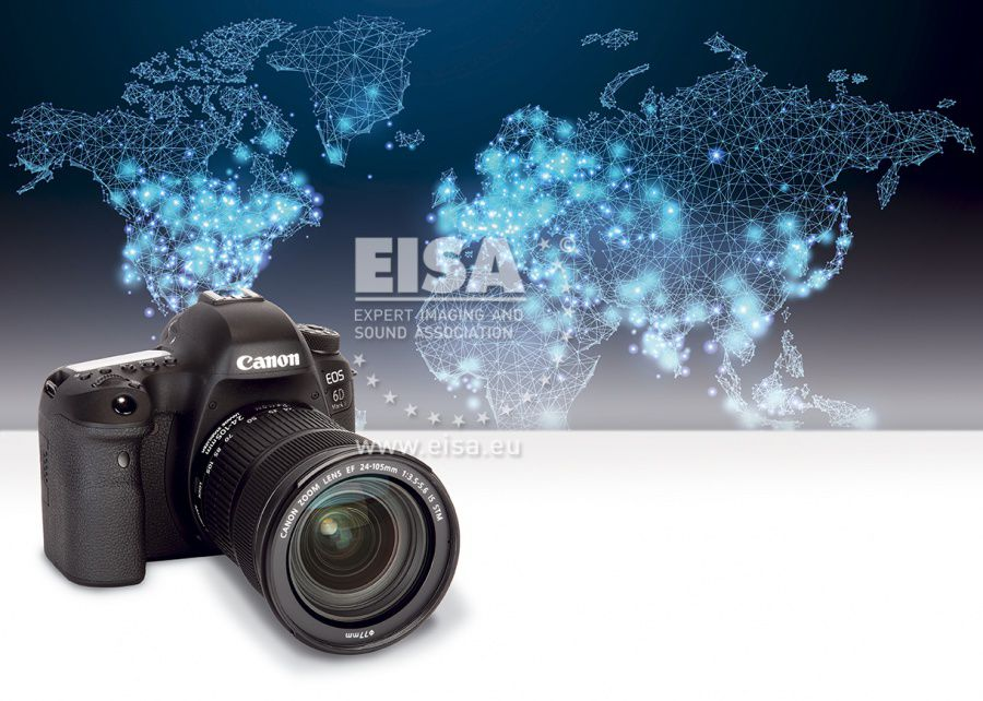 EISA DSLR CAMERA 2018-2019 Canon EOS 6D Mark II