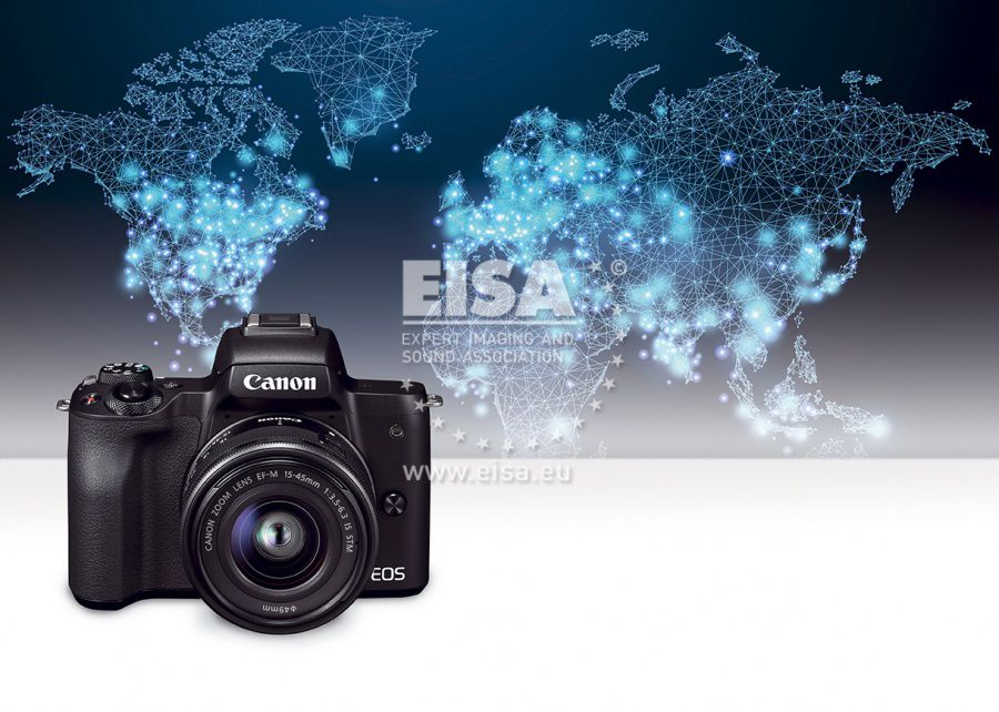 EISA BEST BUY CAMERA 2018-2019 Canon EOS M50