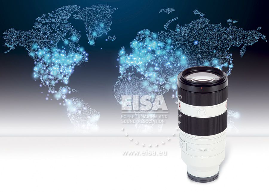 EISA MIRRORLESS TELEZOOM LENS 2018-2019 Sony FE 100-400mm F4.5-5.6 GM OSS