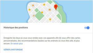 Géolocalisation: Google suit les déplacements en dépit des paramètres