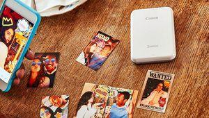Canon Zoemini: une imprimante Zink de poche