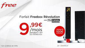 [MàJ] Bon plan –  La Freebox Révolution à prix cassé