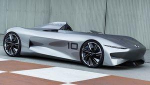 InfinitiPrototype10: un concept-car électrique rétro-futuriste