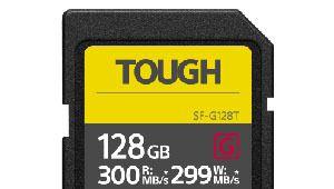 Sony SF-G Tough: cartes SD pour baroudeurs
