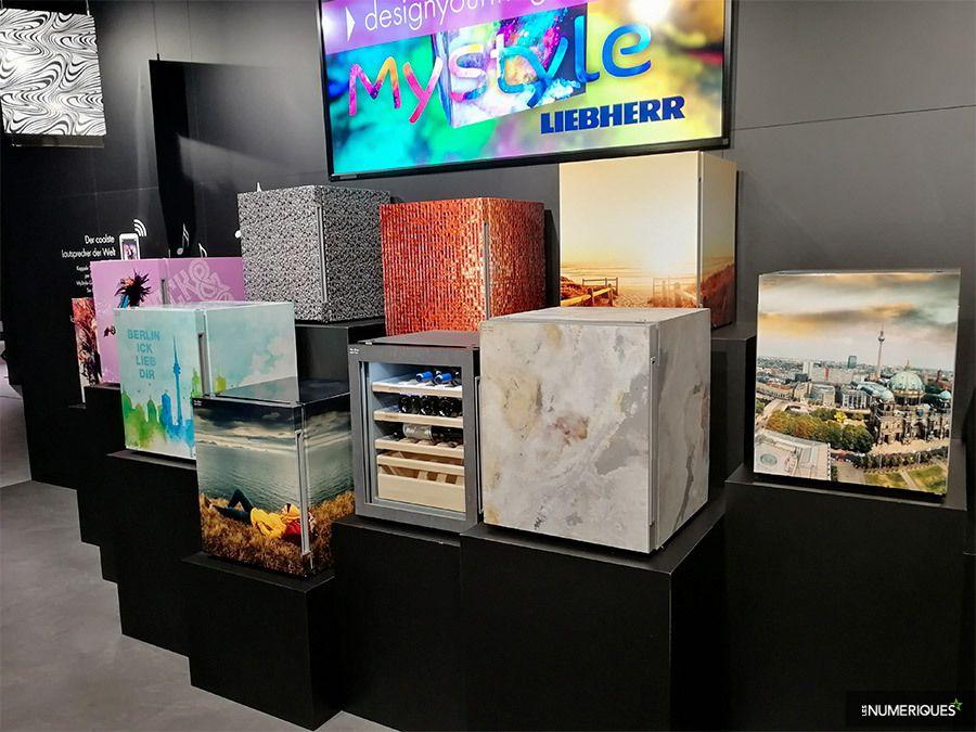 Liebherr permet de décorer son frigo