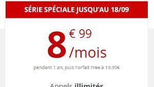 [MàJ] Bon plan – Free Mobile prolonge son forfait 60 Go à 8,99€