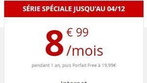 [MàJ] Bon plan – Forfait Free Mobile 60 Go à 8,99€