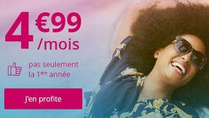[MàJ] Bon plan – B&You: forfait illimité + 20 Go à 4,99€ par mois