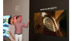 IFA 2018 – LG annonce la commercialisation de la TV OLED 8K bientôt