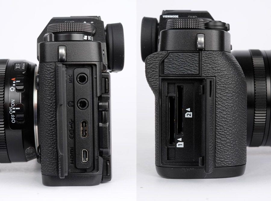 Fujifilm x-T3 connecteurs