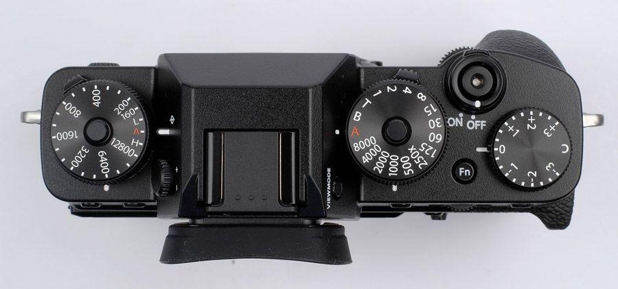 Fujifilm X-T3 vue de dessus