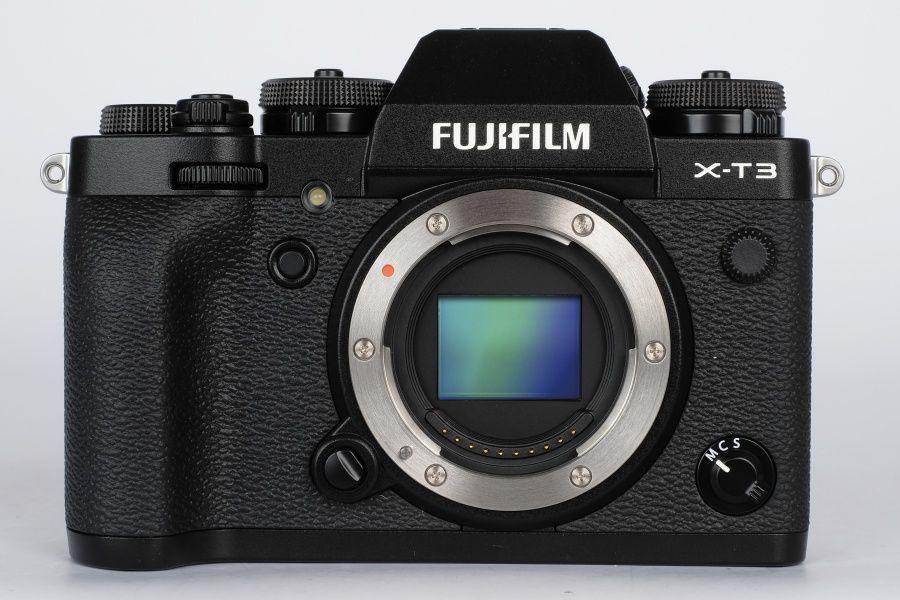 fujifilm x-t3 face capteur