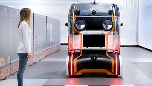 Jaguar humanise son véhicule autonome avec des yeux virtuels