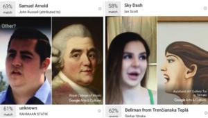 Google Arts & Culture lance enfin sa fonction selfie en France