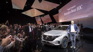 Mercedes-Benz EQC: le SUV électrique devient réalité pour 2019