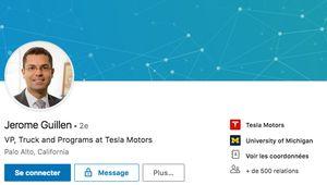 Tesla: Jérôme Guillen promu à la tête de la division Automobile