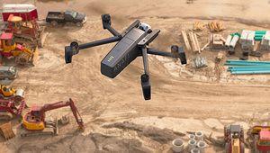 Le drone Anafi de Parrot se met au travail