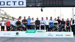 Championnat de vitesse de motos électriques: cinq courses en 2019