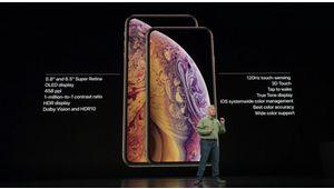 iPhone Xs et Xs Max: des mises à jour mineures chez Apple