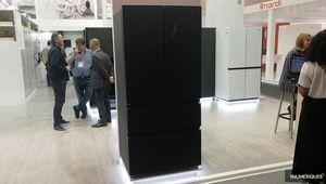 Schneider présente son réfrigérateur French Door SCFD536NFB