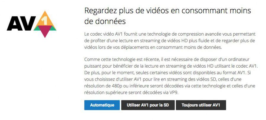 YouTube utilise déjà le nouveau codec AV1 - Les Numériques