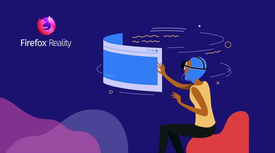Premier navigateur 100% VR — Mozilla Firefox Reality