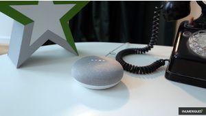 Google Home Mini: l'assistant le plus vendu nargue Amazon Echo